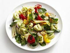 Warm Tortellini and Roasted Vegetable Salad Recipe : Food Network Kitchen : Food Network