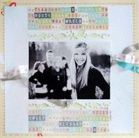 A Project by Wilna from our Scrapbooking Gallery originally submitted 04/16/12 at 03:21 PM
