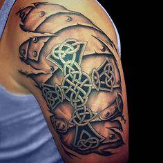 The Best Celtic Tattoos on shoulder
