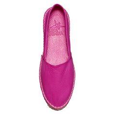 Pink Leather Espadrilles by Lika Mimika   MONOQI