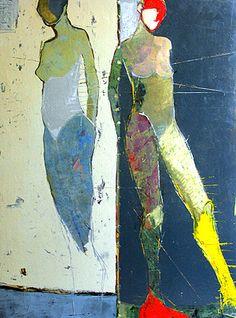 Jylian Gustlin - Terrigenus - Contemporary Artist - Figurative Painting