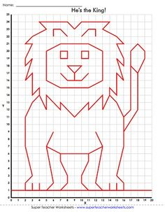 Mystery Graph Art Worksheet