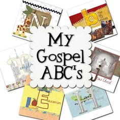 Sunday activities for church and the LDS home - puzzles, matching, abc book & more