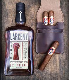 "Trying out a new bourbon ""Larceny"" from Heaven Hill distillery  via @vintage_gentlemen . . . #rustic #vintage #dapper #mensstyle #mancave #realman #beard #coffee #whisky #whiskey #tequila #cigar #interiordesign #grit #keepitsimple #flatlay #metal #beer #caferacer #bar #reclaimed #leather #mensdecor #countryboy #classy #classic #menswear #mensfashion #decore #homedecore"