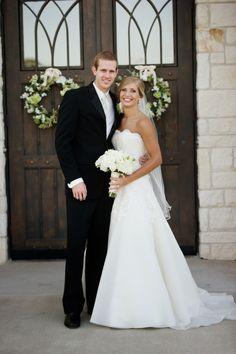 Daniel and Real Bride Lindsay in Jim Hjelm