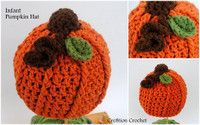 Infant Crochet Pumpkin Hat