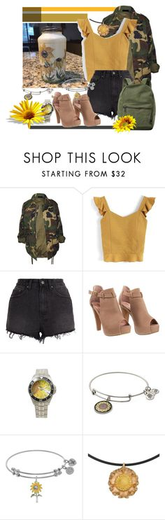 """""""Summer To Fall Style"""" by tia2 on Polyvore featuring Chicwish, Ksubi, Alex and Ani and Herschel Supply Co."""