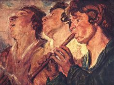 """Three Musicians"", by Jacob Jordaens."