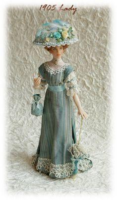 Porcelain dolls from Elisa Fenoglio