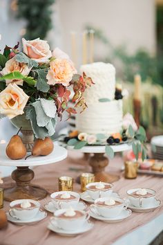 Chocolate mousse: http://www.stylemepretty.com/living/2015/09/15/30th-birthday-celebration-dripping-in-florals/ | Photography: Sara Weir - http://www.saraweirphoto.com/