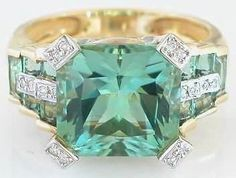 What a ring, I'll take it, thanks. aqua teal turquoise jewelry accessories design