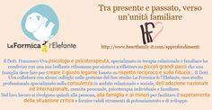 """""""Tra presente e passato, verso un'unità familiare ... il Dott. Francesco Uva psicologo e psicoterapeuta, specializzato in terapia relazionale e familiare ha condiviso con una sua brillante riflessione per aiutarci a riflettere su piccoli grandi passi che una famiglia deve fare per creare il giusto legame basato su rispetto reciproco e sulla fiducia..."""