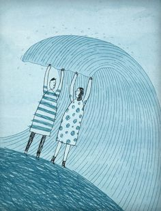Clinging to Each Other, We Survived the Storm, by Monica Wesolowska | Modern Love - NYTimes.com