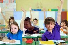 como cuando todos tienen la mano levantada y te preguntan a ti