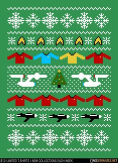 Captain's Christmas Sweater - Apparel