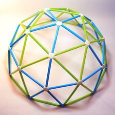 Geodesic Dome Kit Geodesic Toy Puzzle Kids Geometric by MeshCloud