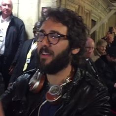 josh groban at Royal Albert Hall stage door 18 May 2016 #stagestour, for all Josh's fans our there! #joshgroban #upclose