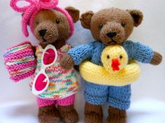 Teddy Bears at the Beach with Ducky Ring by KatesCache on Etsy, $42.00