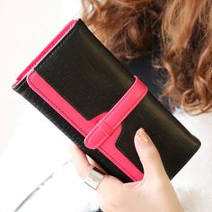 Lady Women Clutch Long Purse Leather Wallet Card Holder Phone Handbag Bag NEW #Women #Wallet #Phone #Bag
