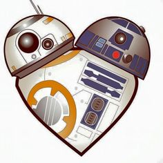 "webofstarwars: "" Happy Valentine's Day! """