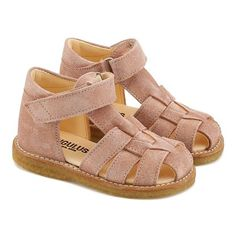 Fisherman style sandal , Dusty rose 1196