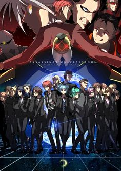 Assassination Classroom   Ansatsu Kyoushitsu   Anime   Fanart   Sailormeowmeow