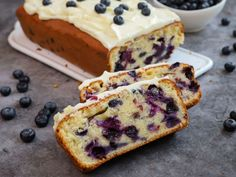 Brunch, Blueberry Cake, Cookie Recipes, French Toast, Muffins, Bakery, Recipies, Cheesecake, Food And Drink