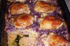 Růžové kuřátko   jitulciny-recepty.cz Chicken Recipes, Meat, Fitness