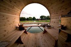 Sauna arrangementen Saunas, Jacuzzi, Outdoor Sauna, Outdoor Decor, Container Hotel, Sauna Wellness, Barrel Sauna, Bed & Breakfast, Dry Sauna