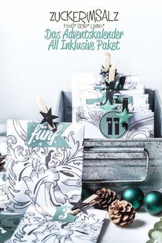 Nur ein Adventskalender All Inklusive Paket kann euch garantiert jetzt noch retten, denn … *kreisch* heute in vier Wochen ist Weihnachten schon vorbei. Das schreit doch geradezu nach voller P…