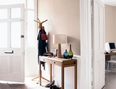 Neutral living rooms and natural bedroom ideas are easy when you combine soft shades with wood accessories. Discover inspiration and shades with Dulux. Neutral Hallway, Room, Interior, Beechwood, Dulux, Natural Bedroom, Neutral Living Room, Warm Bedroom, Wood Accessories