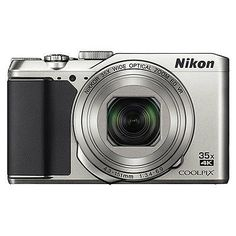 Nikon Coolpix A900 20MP 4K Digital Camera 35x Optical Zoom Silver WiFi/ NFC #photography