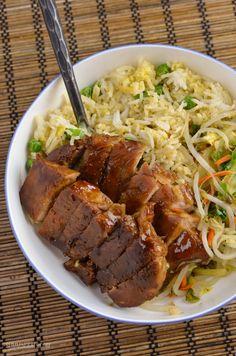 Slimming Eats Chinese Pork - gluten free, dairy free, Slimming World and Weight Watchers friendly