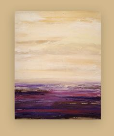 Acrylic Abstract Fine Art Painting on Gallery by OraBirenbaumArt, $285.00