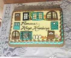 JW pioneer cake. Doors