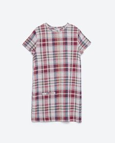 Image 6 of CHECKED DRESS from Zara