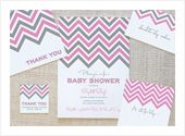 free baby shower invite printables...(cute, too)