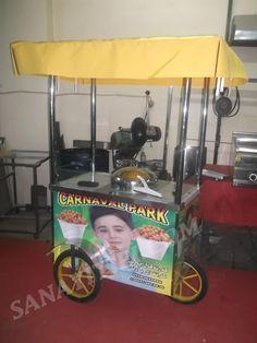 3 Tekerlekli Bardakta Mısır Arabası » - Sanayi tipi