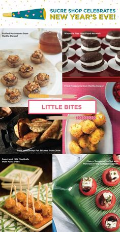 Sucre Shop Blog: New Year's Appetizers