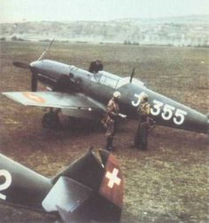 Swiss Messerschmitt Bf Eighty and ten Bf aircraft served in the Swiss Air Force during Ww2 Aircraft, Fighter Aircraft, Military Aircraft, Me 109, Fighter Pilot, Fighter Jets, Swiss Air, Focke Wulf, German Army