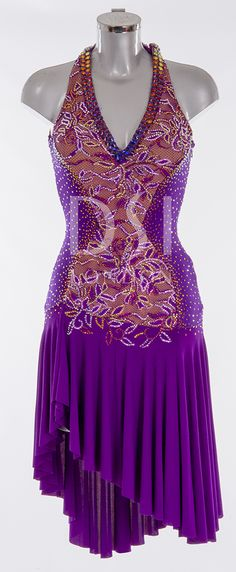 As worn by Jennifer Gibney on Strictly Come Dancing 2014. Designed by Vicky Gill and produced by DSI London