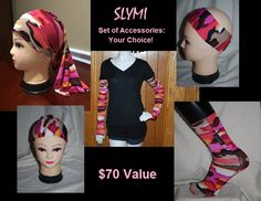 Giving away a full set of matching SLYMI Scuba accessories. Fabric color will be winner's choice from what is in stock at time of giveaway ending. What's included?: One pair of dive socks (any size), One pair of Arm-Socks (any Size), One Stuff, and One headband of winner's choice (skinny, wide, or ponytail style). If you've never tried dive socks, you are missing out! The dive Socks and Arm-Socks will help you get your wetsuit and boots on easier, while the Headband or Stuff will hold your…
