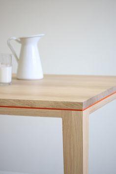 Esstische - Schreibtisch / Esstisch R10 Eiche massiv - ein Designerstück von BPistorius bei DaWanda
