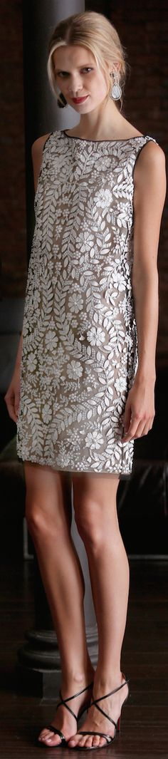 ♕♚εїз | BLAIR SPARKLES RESORT 2015 Naeem Khan