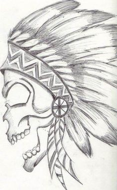 Trilling Exercises To Get Better At Drawing Ideas. Astounding Exercises To Get Better At Drawing Ideas. Easy Drawing Images, Cool Easy Drawings, Trippy Drawings, Pencil Art Drawings, Art Drawings Sketches, Animal Drawings, Drawing Ideas, Easy Skull Drawings, Skull Art