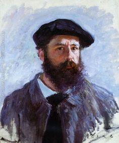 Self portrait Claude Monet