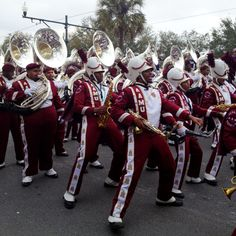 The Marching Band from AAMU was one of the highlights of Endymion.
