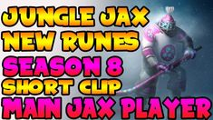 THE POWER OF THE NEW RUNES ON LEAGUE OF LEGENDS AS JAX LOL