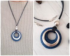 Excited to share the latest addition to my shop: Silver circle pendant with Blue Lava Rock Necklace Women's jewelry Boho Leather necklace Denim Blue Lava Jewelry Gift for her Rock Necklace, Simple Necklace, Leather Necklace, Stacked Necklaces, Heart Necklaces, Women's Jewelry, Jewelry Gifts, Solid Silver Bracelets, Leather Chain