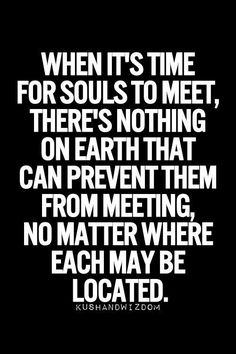 There's nothing on earth that can prevent them from meeting!
